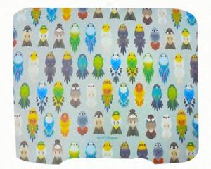 Bird Pattern Mouse Pad for gaming