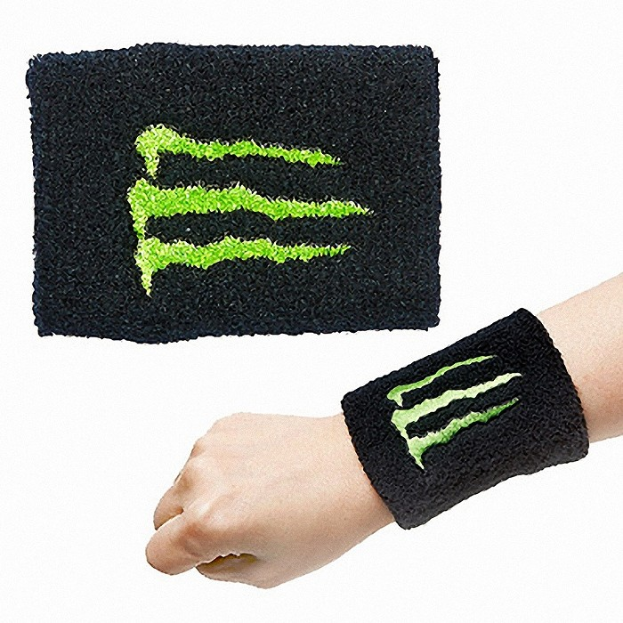 Terry cloth wristband for sports